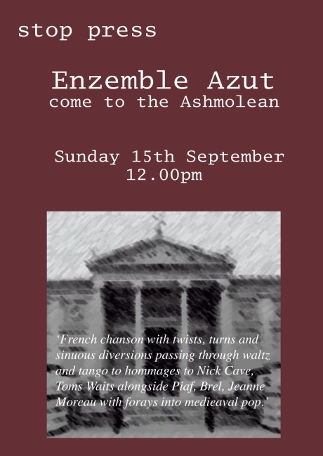 azut at the ashmolean